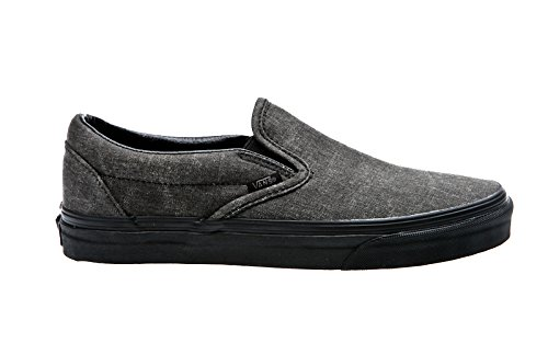 Herren Slip On Vans Classic Slip-On Slippers (Orange Canvas Schuhe)
