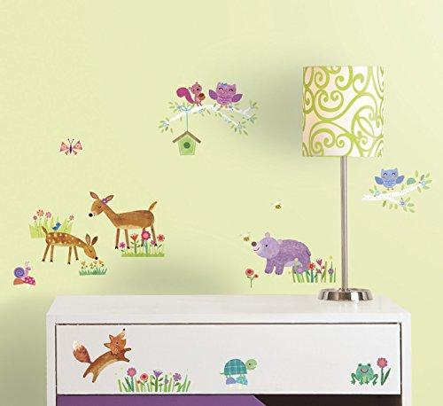 RoomMates 54347 RM - Dekosticker Waldtiere Baby - Disney Wandtattoos Boy