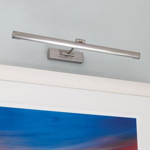 Astro – Goya 590 13 W Bild Licht gebürstetem Nickel-Finish 0529 (Gebürstetem Nickel Finish Wall)