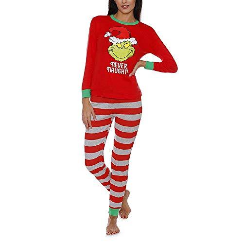 Conjunto Pijamas navideños Juego Familia Ropa Dormir