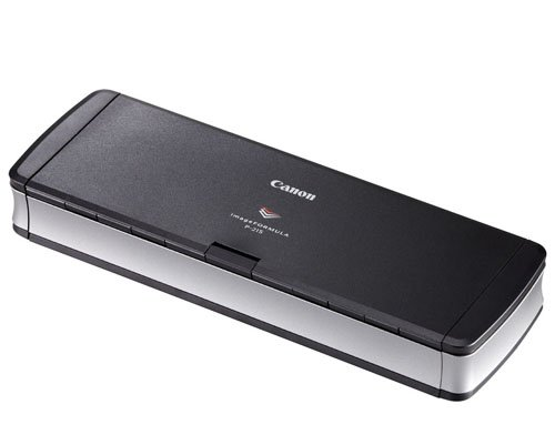Canon imageFORMULA P-215 Scan-tini Personal Document Scanner at amazon