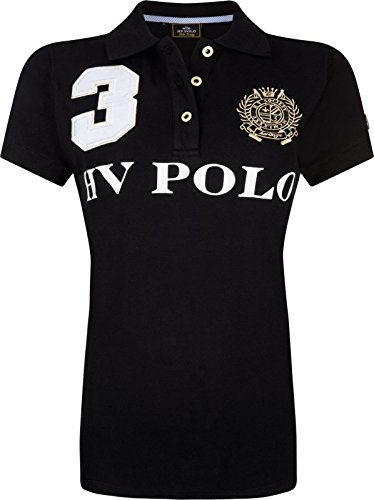 HV Polo - Polo Favouritas EQ SS - Poloshirt Black