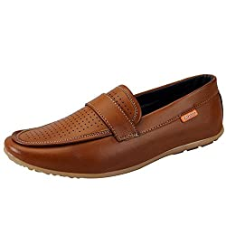 Fausto 3052-41 Tan Mens Loafers