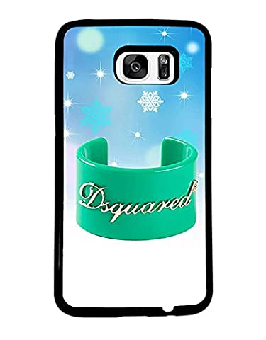 Brand Logo Samsung Galaxy S7 Edge Coque Case Dsquared2 Snap On for Man Woman Dsquared2 Samsung S7 Edge Coque Case Brand Logo Dsquared2