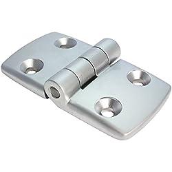 Bisagra aluminio Bisagra combinado Bisagra aluminio fundido 45/45No desmontable. 48x 87mm