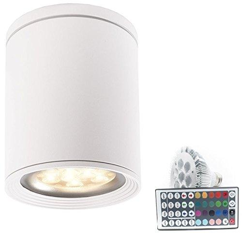 Foco de techo ideal para cromoterapia, cabina de ducha, ambientes húmedos. Luz...