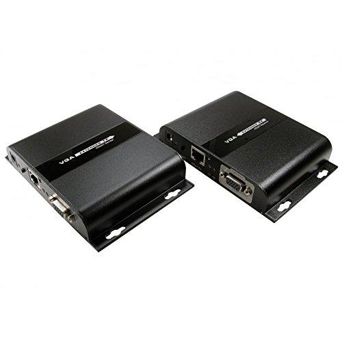 über Cat5 Vga-audio (bluecharge Direct 120m SVGA SUPER VGA und 3,5mm Audio über Cat5e/Cat 6Extender 1080p bei 120m)