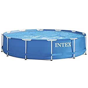 Intex 28212 piscina frame con pompa filtro for Piscine intex amazon