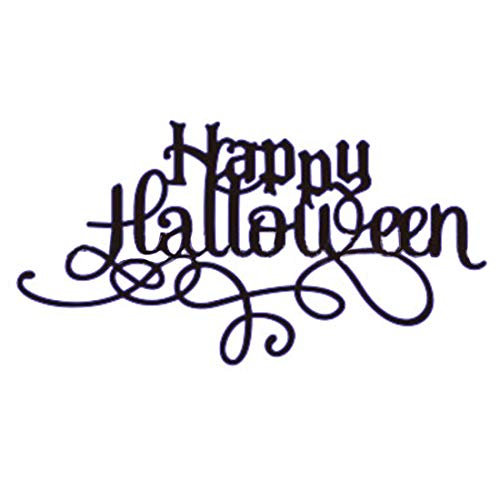 RainBabe 1 Stück Halloween Kürbis Hexe Metall Stanzschablone -