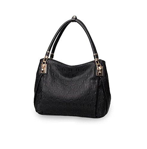 Z&N Europa die Vereinigten Staaten Qualität Mode Damen Handtaschen Umhängetasche lässige Tasche Reisetasche geeignet für Abendessen PicknickParty Multi-Tasche black