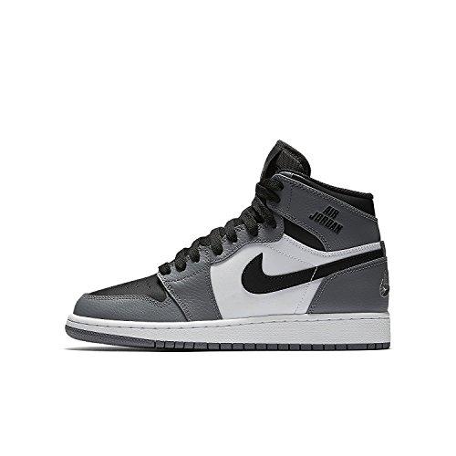 705300 024 Nike Air Jordan 1 Retro High (GS) Sneaker Grau 36.5 (Retro High-top)