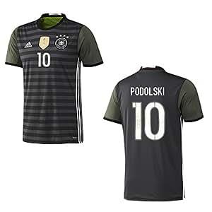 adidas DFB DEUTSCHLAND Trikot Away Kinder EURO 2016 – PODOLSKI 10