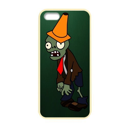 iphone 5S Case Cover Cute Colorful Hard Case Customized Custom Plants vs Zombies Pattern iPhone 5 Case Unique Designed iPhone 5S Cell Phones