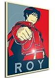 "Poster Full Metal Alchemist ""Propaganda"" Roy - FMA Formato A3 (42x30 cm)"