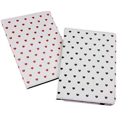 Grano en forma de corazón-Stand funda protectora para el iPad de Aire .