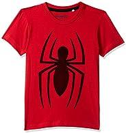 Spiderman By Kidsville Regular fit Boy Tshirt