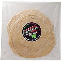 La Pâte Vous-Même 2 Artisan Croûte Mince Bases De Pizza Blanche 400G - Paquet de 6