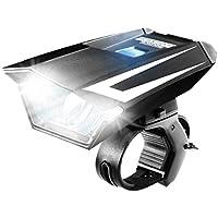 ENHANCE Superhelle LED Fahrradlampe Beleuchtung mit 115 Lumen und verschiedenen Leuchteinstellungen. Für BMX KS Cycling Viking Hillside Gregster usw