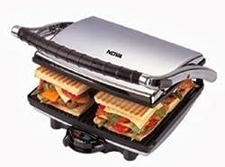 Nova NT-233HDG Sandwich Maker (Black)