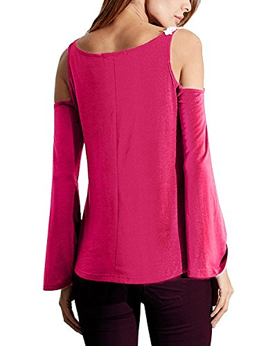Tiger~Baby -  Maglia a manica lunga  - Donna Pink