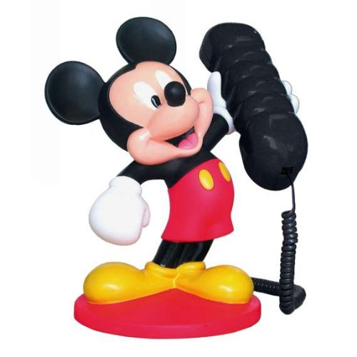 Click for larger image of Disney Mickey Mouse Telephone