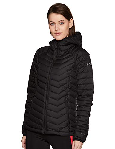 Columbia Damen Powder Lite Hooded Jacket, Black, S, WK1499