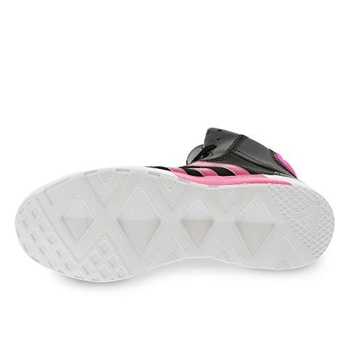 Adidas Performance femme Fitness chaussures noir/rose