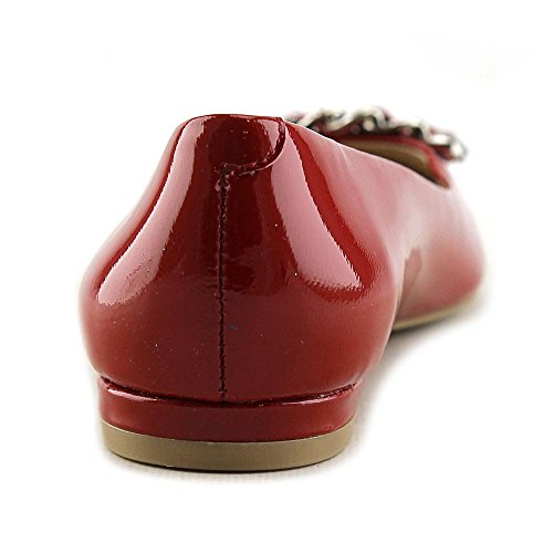Nina Merit Cuir verni Chaussure Plate Imperial Red