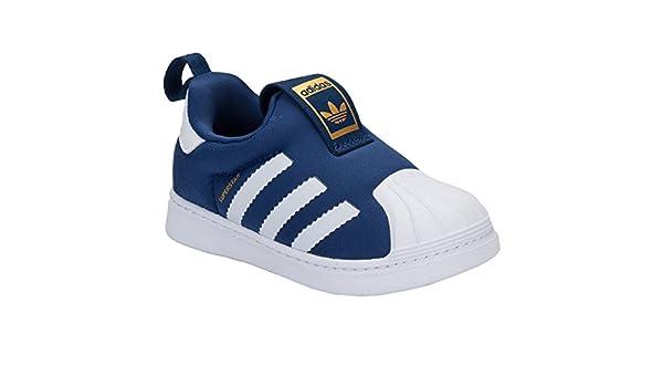 c55882b9408c4 Baskets adidas Originals Superstar 360 pour bébé garçon - Bleu Marine - 24.5  EU  adidas Originals  Amazon.fr  Chaussures et Sacs