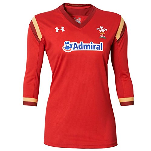 Wales WRU 2016/17 Home Ladies S/S Rugby Shirt