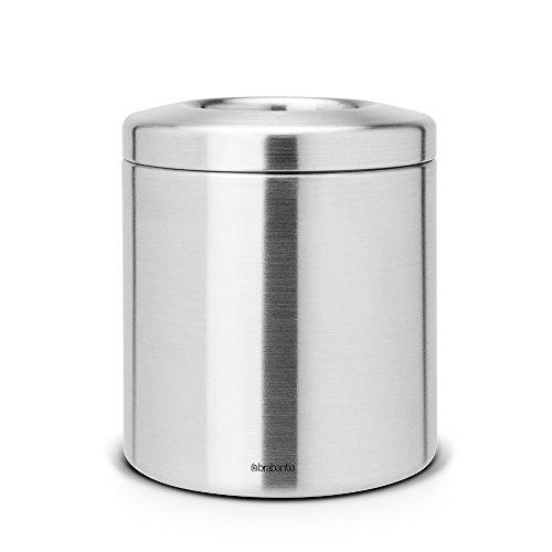 Brabantia 297960 - Cubo de basura para encimeras de acero inoxidable, color...