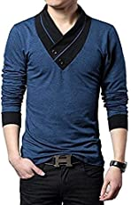 Try This Men's Cotton V-Neck T-Shirt
