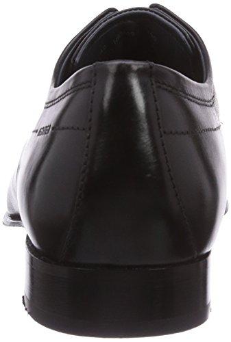 Daniel Hechter - HB24091, scarpe oxford  da uomo Nero(Schwarz (schwarz 100))