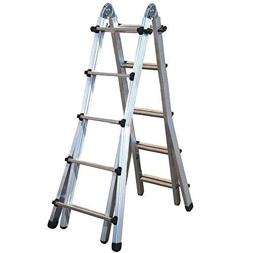 Sicos 146507 - Escalera multiposiciones (aluminio, 5x4)