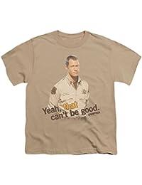 Eureka hombre que no puede ser bueno juventud camiseta arena