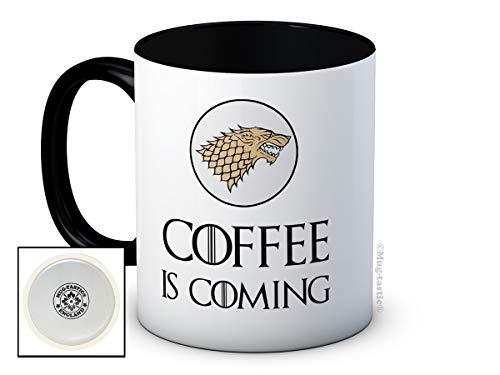 Coffee is Coming - Game of Thrones Parodie - Hochwertige Kaffeetasse Becher