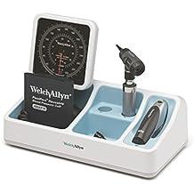 Welch Allyn 77535 – 24 sistema de escritorio de diagnóstico con escritorio – Tensiómetro, Macro