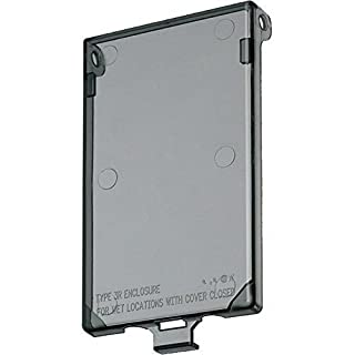 Arlington Industries DBVC-1 Wall Plate Cover, Clear