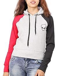 DELHITRADERSS® CD-02 Hoodie Woolen Winter Top T Shirt for Women(Size-M,L)