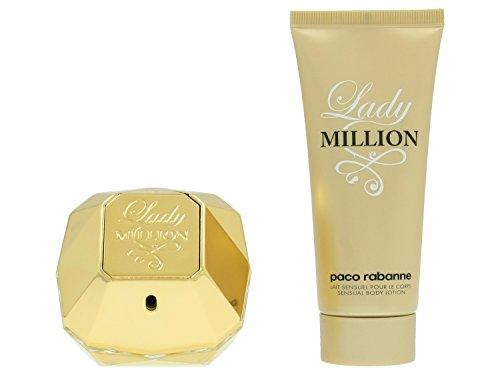 �fte Lady Million Geschenkset Eau de Parfum Spray 80 ml + Body Lotion 100 ml 1 Stk. ()