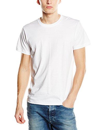 Stedman Apparel Herren Regular Fit T-Shirt Weiß