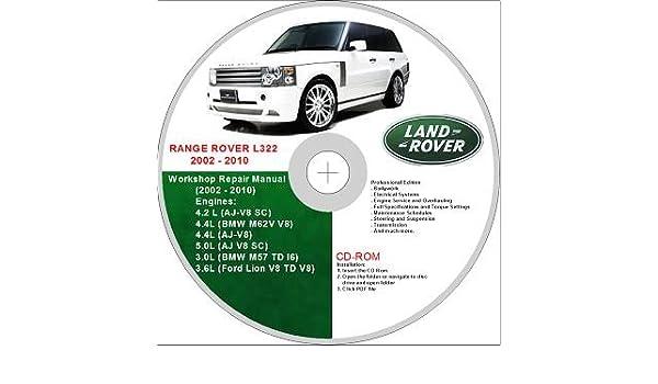 range rover land rover l322 2002-2010 service repair manual: amazon co uk:  software