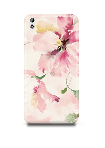 HTC Desire 816 Cover,HTC Desire 816 Case,HTC Desire 816 Back Cover,Oil Painting Floral Pattern HTC 816 Mobile Cover By The Shopmetro-4762