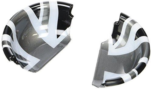Preisvergleich Produktbild Chromiumtech Innenraum Türgriff Tasse Abdeckungen (F56/F55) - Farben zur Auswahl & Stile - Schwarz Union Jack