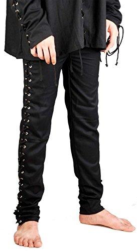 Kostüm Pirat Hose - ThePirateDressing Hosen für Piraten-, Mittelalter-, Gothik-Kostüme,