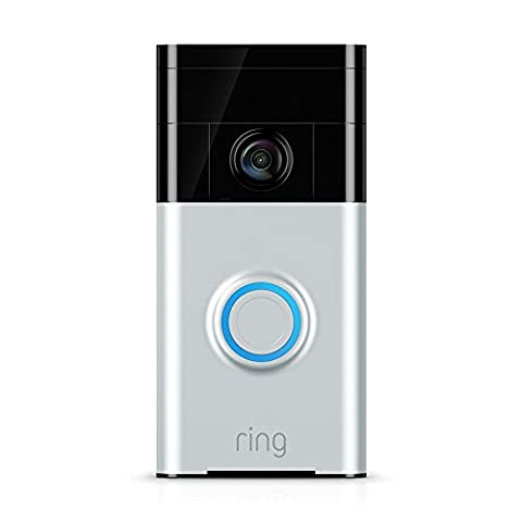 Ring 88RG000FC01 Wi-Fi Enabled Video Doorbell - Satin