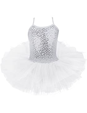 YiZYiF Mädchen Ballettanzug Ball