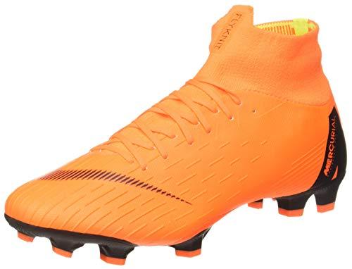 Nike Unisex-Erwachsene Mercurial Superfly VI Pro FG Fußballschuhe, Mehrfarbig (Indigo 001), 45 EU (Nike Mercurial Superfly Orange)