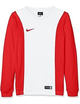 Nike Long Sleeve Top Yth Park Derby Jersey Camiseta, Niños, Blanco/Rojo (White/University Red/University Red), S