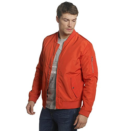 JACK & JONES Herren Bomberjacke Jcogrand Bomber Jacket-Camp Rot
